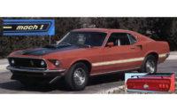 Sidostripe/bagagestripe, -69 Mustang Mach 1