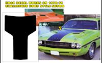 Huvdekal, -70-71 Challenger