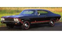 Sido stripe, -68 Chevrolet Chevelle SS
