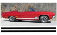 Sido stripe, -68 Buick GS